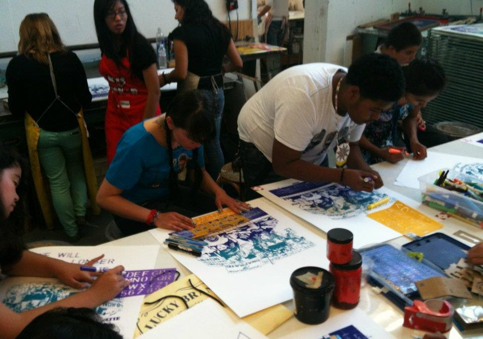 From Oakland To Arizona Print Workshop