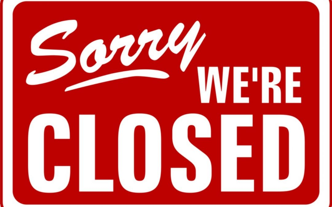 End of year closure