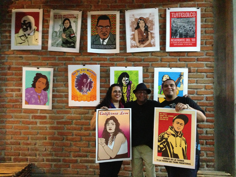 Dignidad Rebelde at Taller 75 Grados in Mexico City
