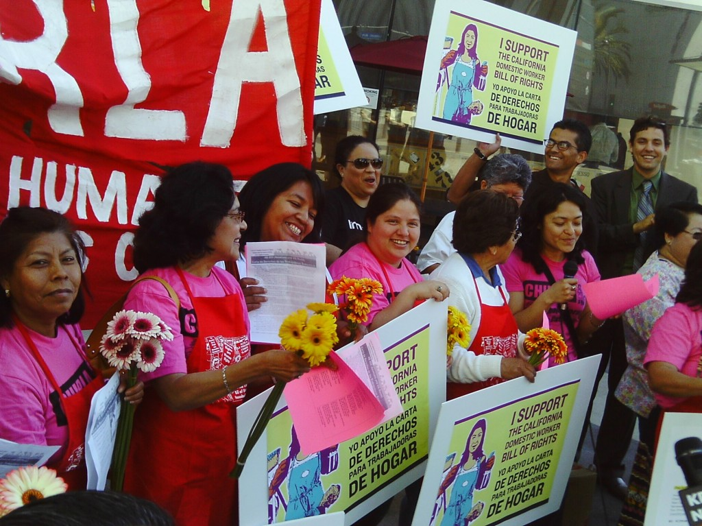 California Domestic Workers Bill of Rights