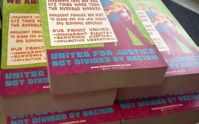 """An update on the """"We are the 99% United for Justice, Not Divided by Racism"""" poster project"""