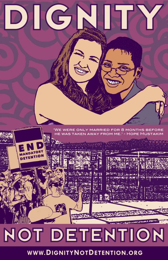 End Mandatory Detention Poster Release