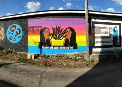 Unceded Voices:anti Colonial Street Art Convergence