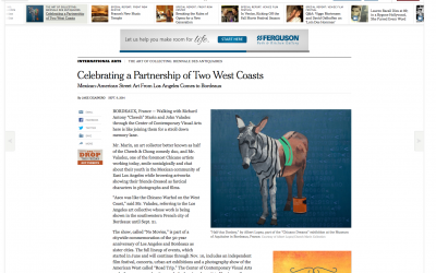 """""""Chicano Dream"""" in the New York Times"""