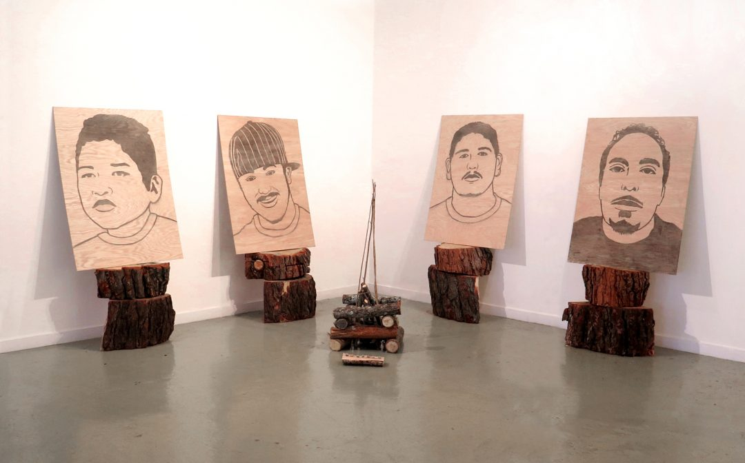 Looking Back Seeing Forward – Jesus Barraza – MFA Thesis Exhibit