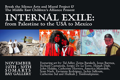 Internal Exile, from Palestine to the USA to Mexico