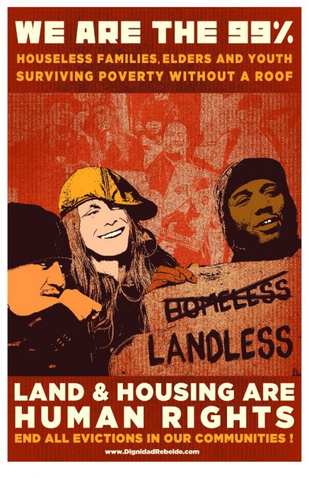 Land and Housing are Human Rights!