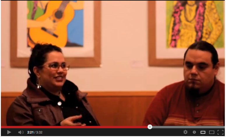 VIDEO: La Peña' Cultural Center Featured Artist for January 2013