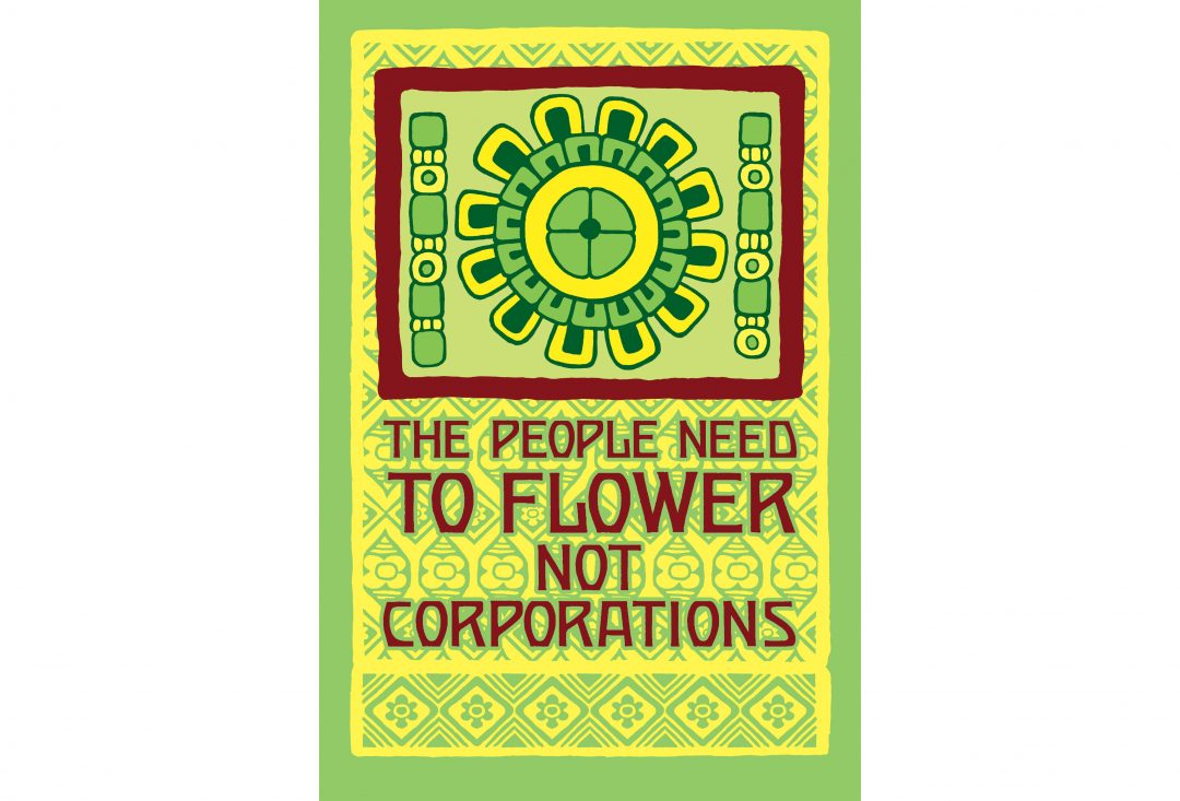 The People Need to Flower Not Corporations