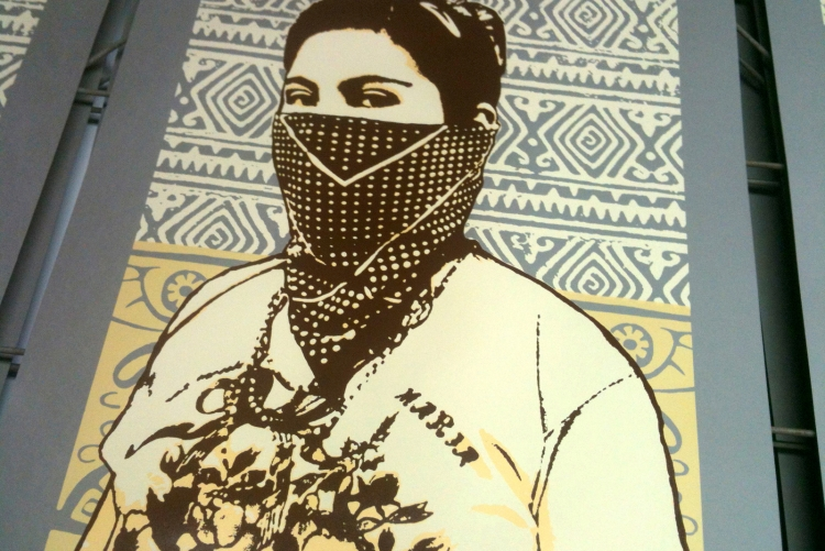 New Print for the Chiapas Support Committee