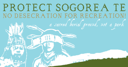Protect Sogorea Te (Glen Cove)! Protect and Sacred Burial and Ceremonial Sites!