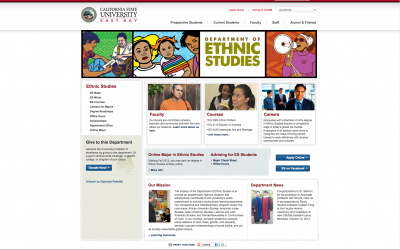 Cal State University East Bay, Department of Ethnic Studies