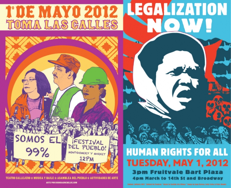 Bay Area 2012 May Day Activities