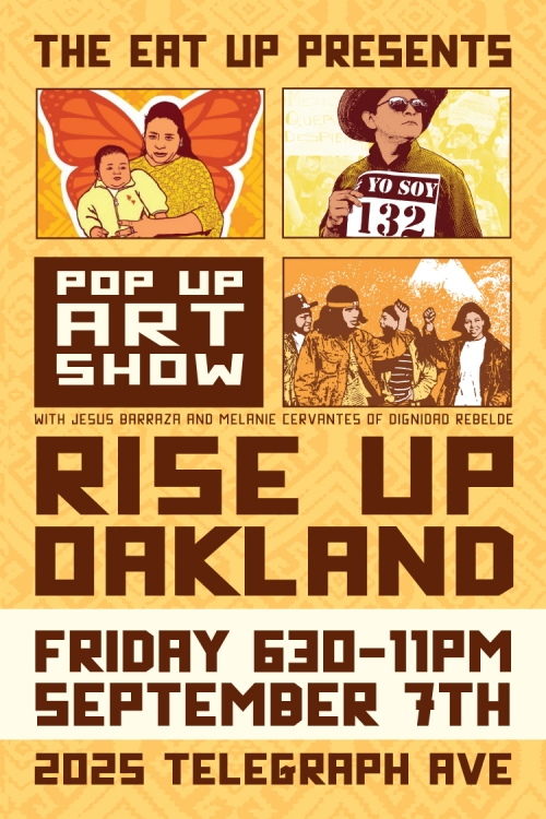 September Rise Up-Pop Up Art Show