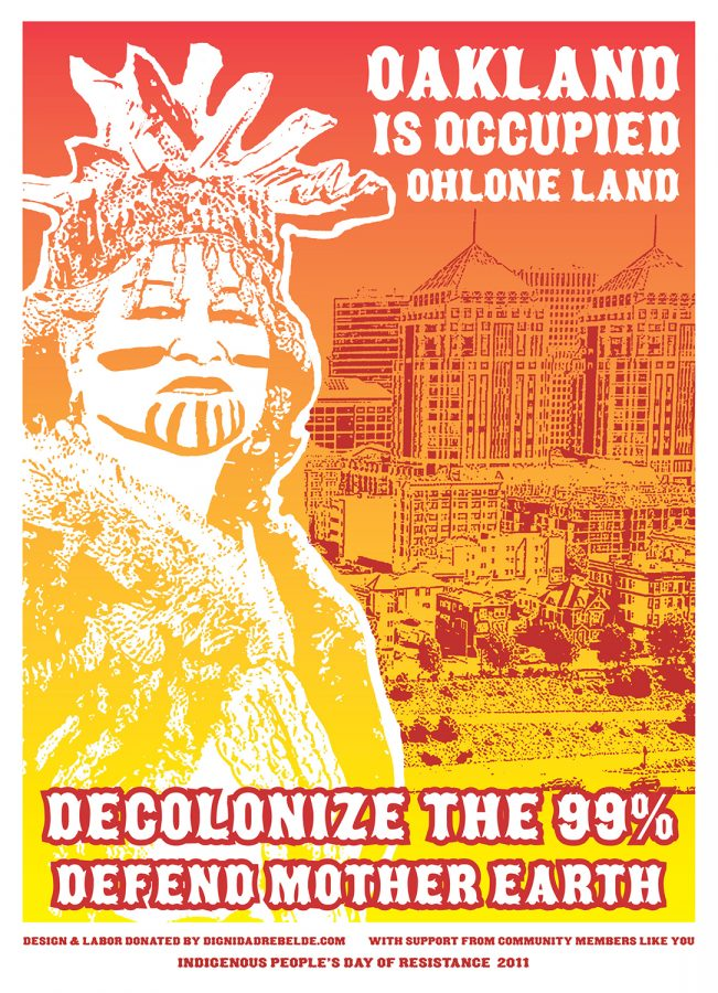 Oakland is Occupied Ohlone Land