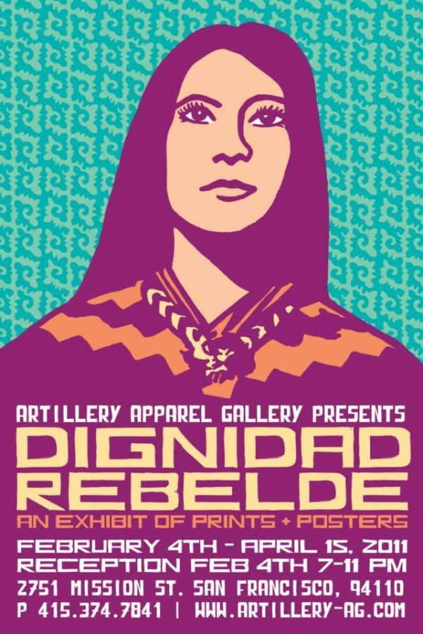 Dignidad Rebelde an Exhibition of Prints and Posters