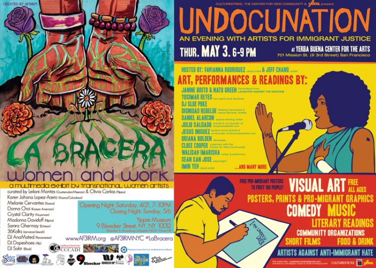 West and East Coast Happenings this week: Undocunation and La Bracera