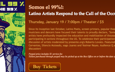 Latino Artists Respond to the Call of the Occupy Movement