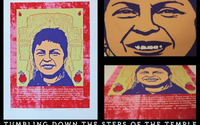 """""""Tumbling Down the Steps of the Temple"""" A portrait of Gloria Anzaldua"""