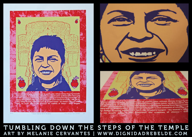 """Tumbling Down the Steps of the Temple"" A portrait of Gloria Anzaldua"