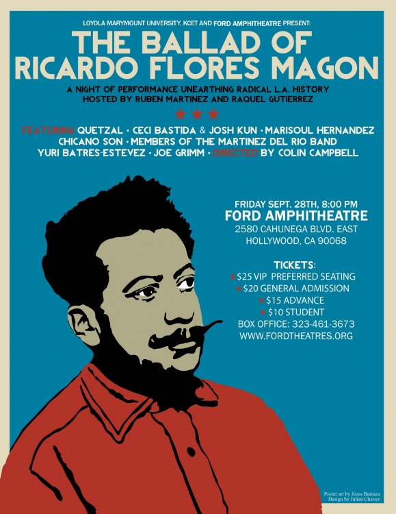 The Ballad of Ricardo Flores Magon