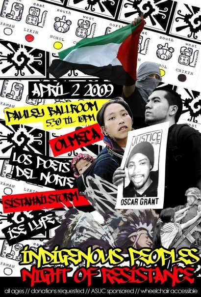 2009 Indigenous People's Night of Resistance