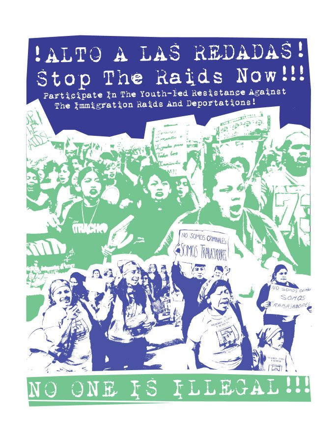 YOUTH-LED RESISTANCE AGAINST THE IMMIGRATION RAIDS AND DEPORTATIONS