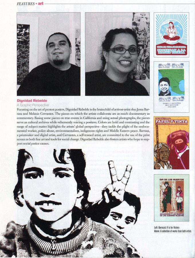 A cool article about us in Hispanic Magazine