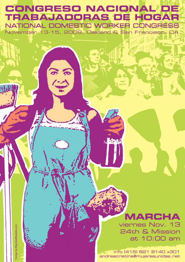 Poster for National Domestic Worker Congress